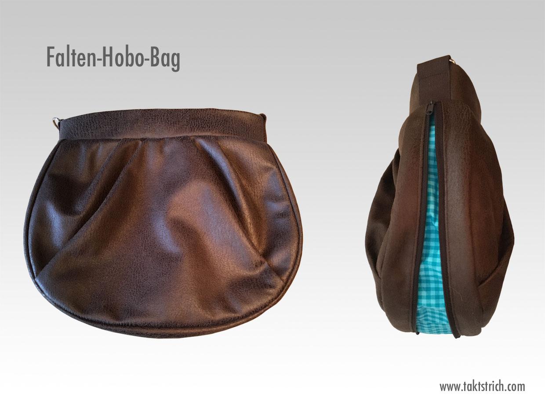 Falten-Hobo-Bag: Die Handtasche für jeden Tag   Nähen, Stricken & DIY
