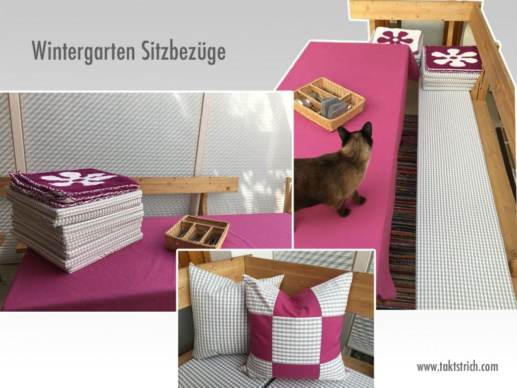 Wintergarten Sitzbezüge