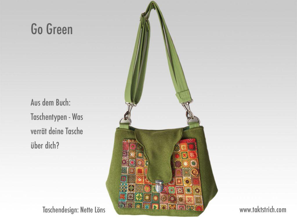 Go Green - Umhängetasche