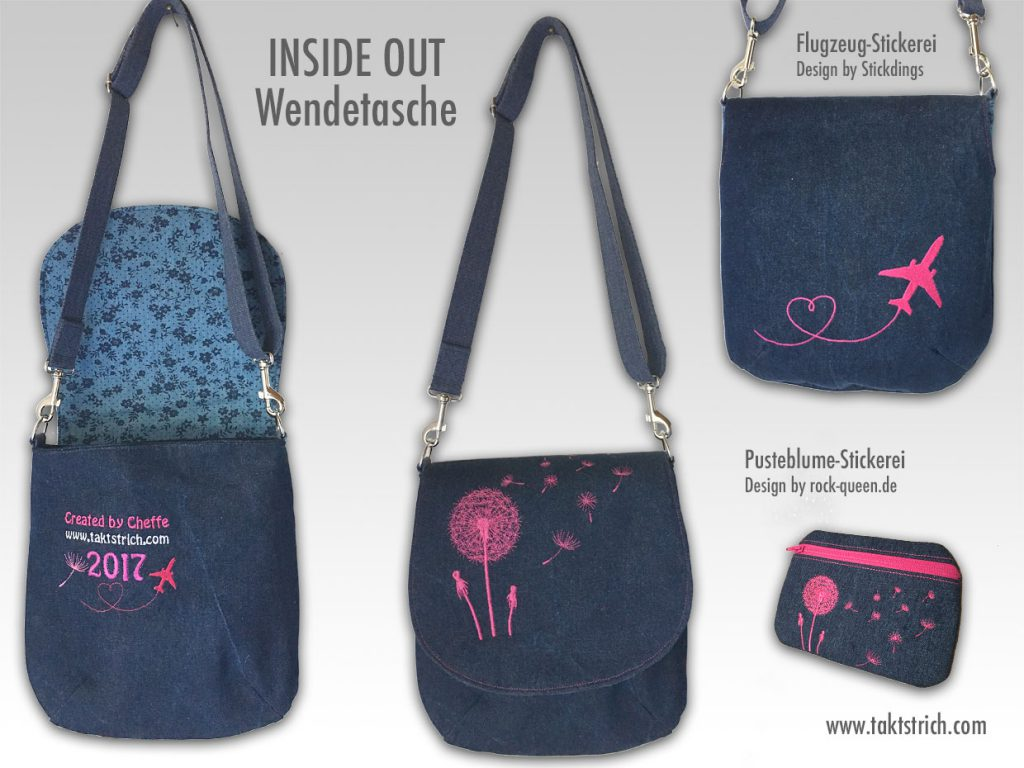 Inside Out Wendetasche