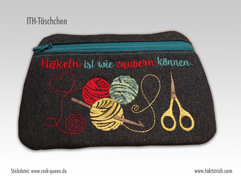 ITH-Täschchen aus der Stickmaschine   Nähen, Stricken & DIY
