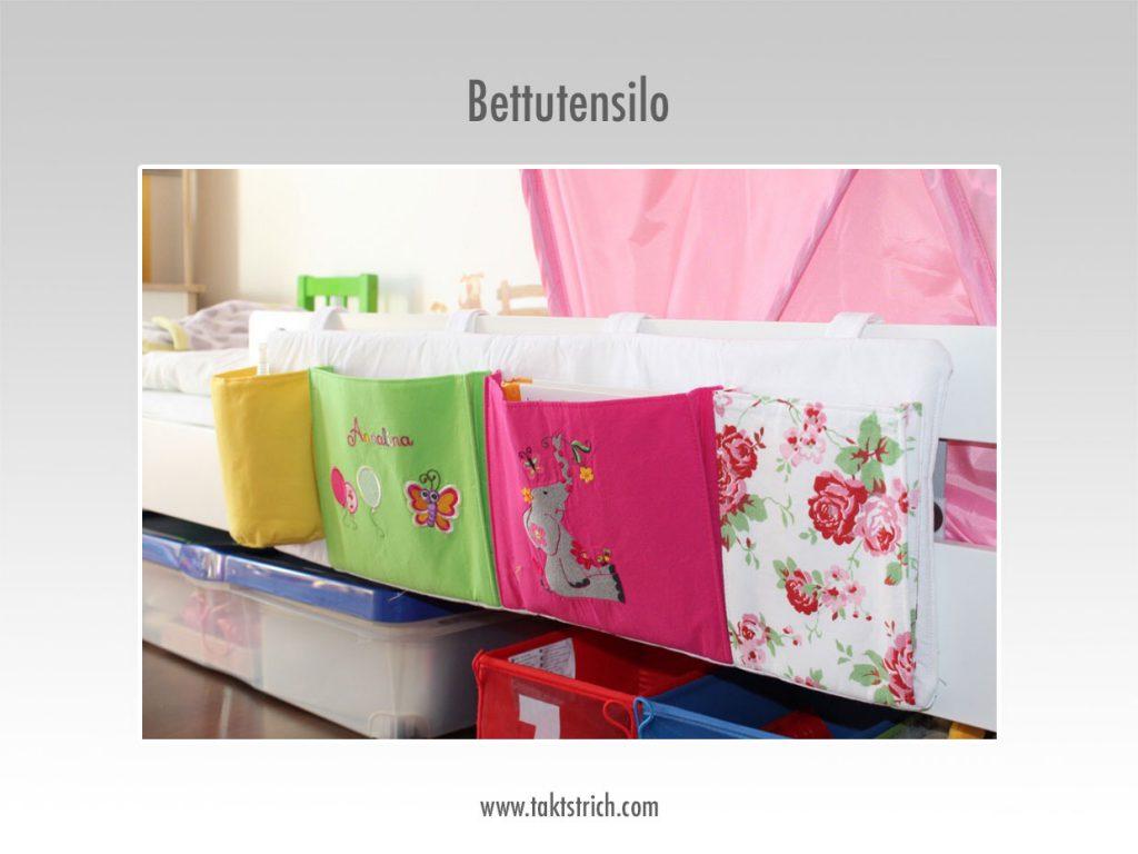 Bett-Utensilo Detail