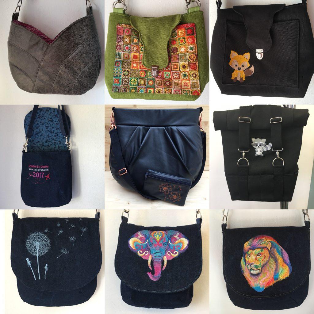 Meine DIY-Taschen 2017
